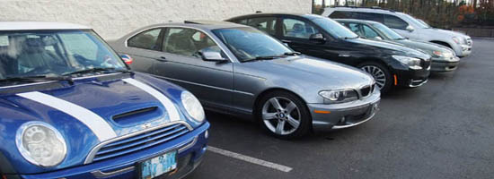 we service Mini BMW Saab Audi Volvo Volkswagen Jaguar Land Rover and more